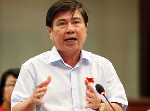 Chủ tịch UBND TP HCM Nguyễn Thành Phong. Ảnh: Thành Nguyễn.