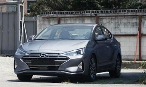 Hyundai Elantra rò rỉ ảnh trước thềm sự kiện ra mắt vào tháng 8 tới. Ảnh: Carscoops.