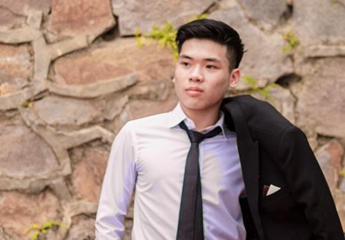 Nguyễn Bá Hoàng - thủ khoa 29,55 điểm khối B của tỉnh Phú Thọ. Ảnh: NVCC.