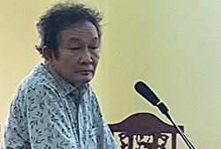 Bị cáo Nguyễn Hoàng Năm tại phiên toà phúc thẩm ngày 12/7. Ảnh: An Phú