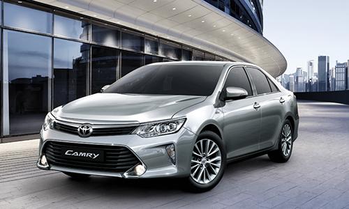 Phiên bản Camry tại thị trường Việt Nam. Ảnh: Toyota.