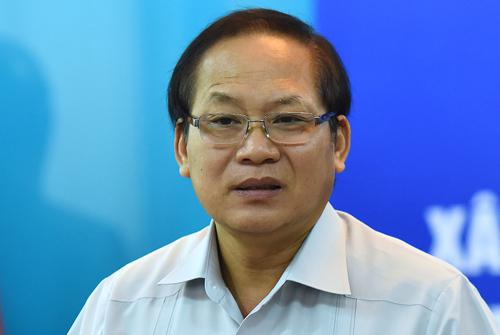 Bộ trưởng Thông tin Truyền thông Trương Minh Tuấn. Ảnh: Giang Huy