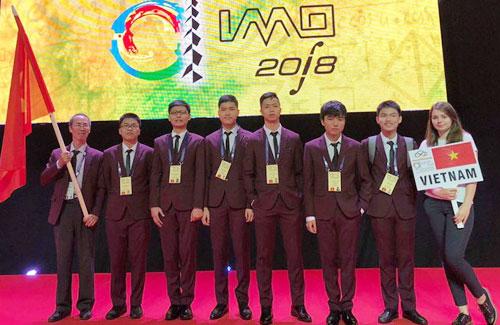 Việt Nam giành một huy chương vàng Olympic Toán quốc tế năm 2018