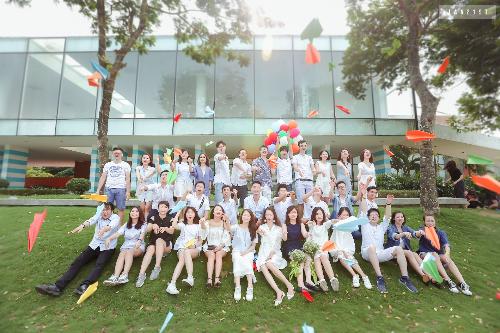 Sinh viên chương trình Cử nhân Quốc tế tại trường Đại học Kinh tế Quốc dân.