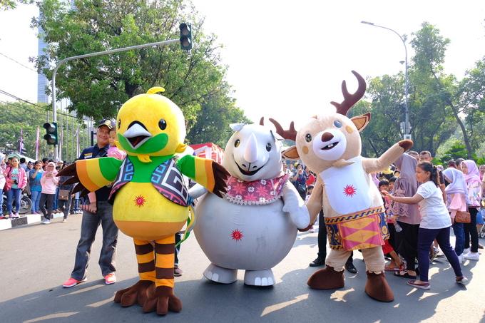 Jakarta muốn có lễ hội hóa trang quy mô lớn như ở Brazil