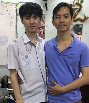 Lớp học ở Sài Gòn có 10 thí sinh hơn 25 điểm khối B - ảnh 1