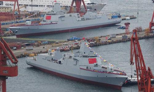 Năng lực đóng tàu chiến của Trung Quốc khiến chuyên gia kinh ngạc - ảnh 1