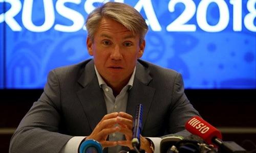 Giám đốc điều hành của Ủy ban tổ chức World Cup 2018 Alexei Sorokin. Ảnh: Skysport.