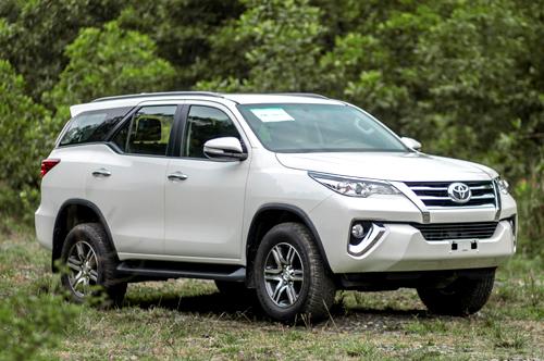 Toyota Fortuner sắp quay lại Việt Nam.