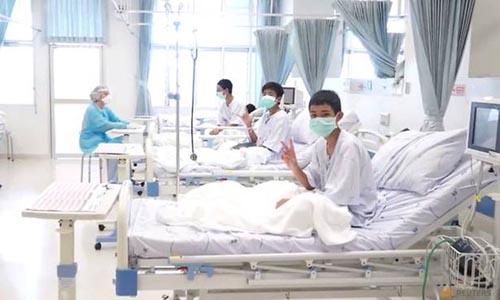Đội bóng nhí Thái Lan xuất viện vào tuần sau - ảnh 1