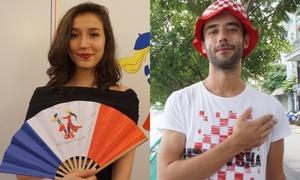 Fan Pháp và Croatia tại Hà Nội dự đoán nhà vô địch World Cup