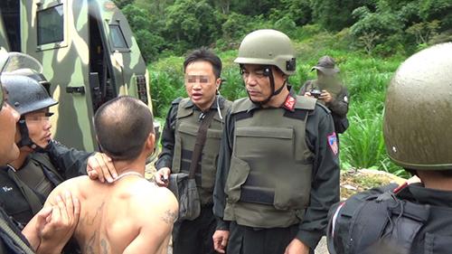 Hai trùm ma tuý ở Lóng Luông bị tiêu diệt là một trong những chuyên án lớn của Bộ Công an thời gian qua. Ảnh: Công an cung cấp.