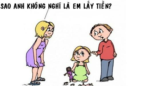 Bí kíp phân biệt kẻ lấy trộm tiền của ông chồng