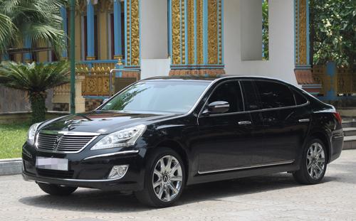 Mẫu Hyundai Equus Limousine rao bán tại Việt Nam.
