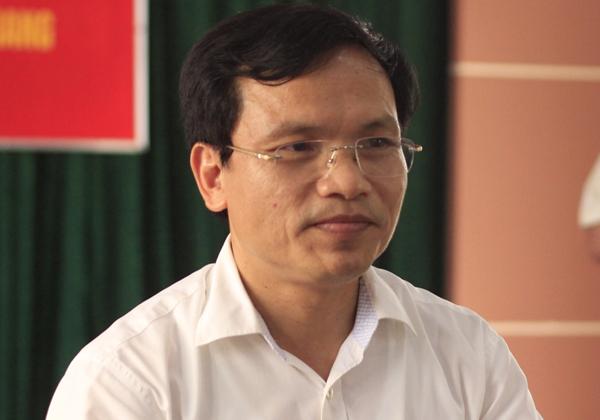 Cục trưởng Quản lý chất lượng giáo dục Mai Văn Trinh. Ảnh: Dương Tâm