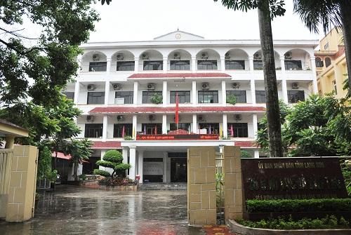 Sở Giáo dục và Đào tạo Lạng Sơn. Ảnh: Thùy Linh