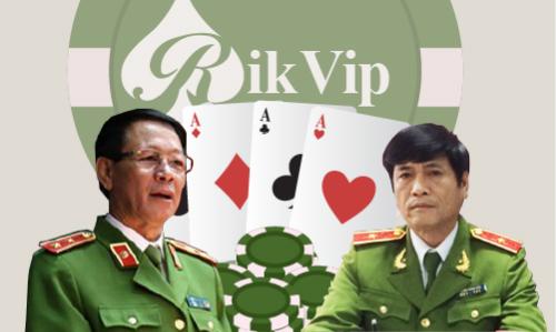 Ông Phan Văn Vĩnh (trái) và ông Nguyễn Thanh Hoá nắm vai trò chỉ huy trong đường dây đánh bạc nghìn tỷ.