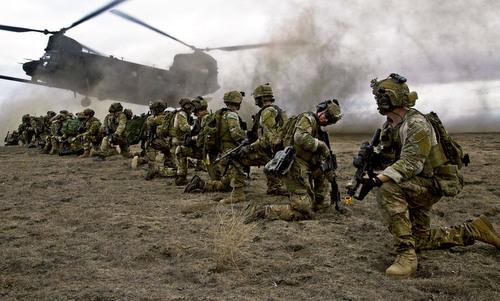 Lính biệt kích lục quân Mỹ trong một cuộc diễn tập năm 2015. Ảnh: US Army.