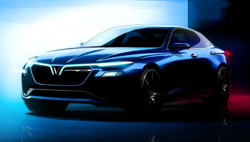 Mẫu thiết kế xe sedan sẽ được giới thiệu tại Paris Motor Show 2018.