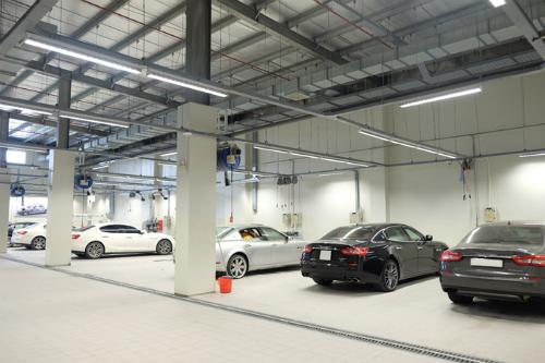 Trung tâmdịch vụ hậu mãi Maserati đi vào hoạt động từ đầu 2018.