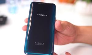 Trải nghiệm nhanh điện thoại Oppo Find X tại Việt Nam