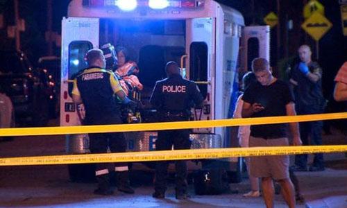 Xả súng ở Canada, 14 người trúng đạn
