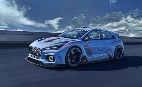 Hyundai RN30 concept là sản phẩm đánh dấu sự ra mắt của chi nhánh hiệu suất cao N.