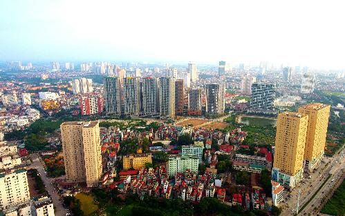 Một góc quận Hà Đông, thuộc tỉnh Hà Tây cũ. Ảnh: Ngọc Thành.