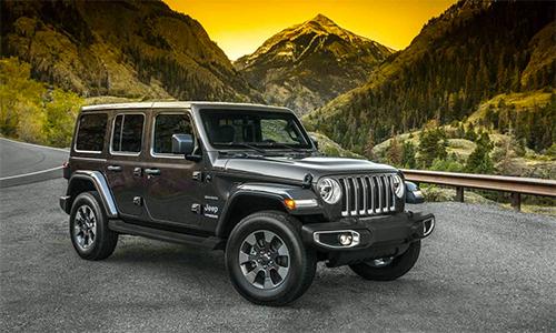 Jeep Wrangler, mẫu SUV biểu tượng của off-road bán ra 133.492 xe nửa đầu 2018, tăng 35% so với cùng kỳ 2017.
