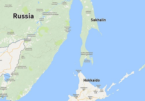 Vị trí đảo Sakhalin, Viễn Đông Nga. Đồ họa:RT.