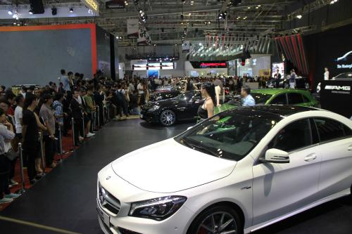 Dẫn đầu thị phần mảng xe sang tại Việt Nam, MBV là tay chơi lớn ở bất kỳ triển lãm nào.