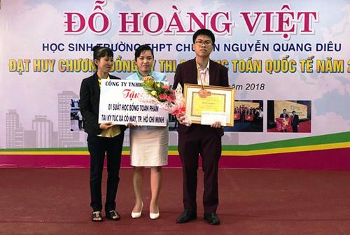 Nam sinh miền Tây đầu tiên đoạt HCĐ Olympic Toán chia sẻ bí quyết học tập