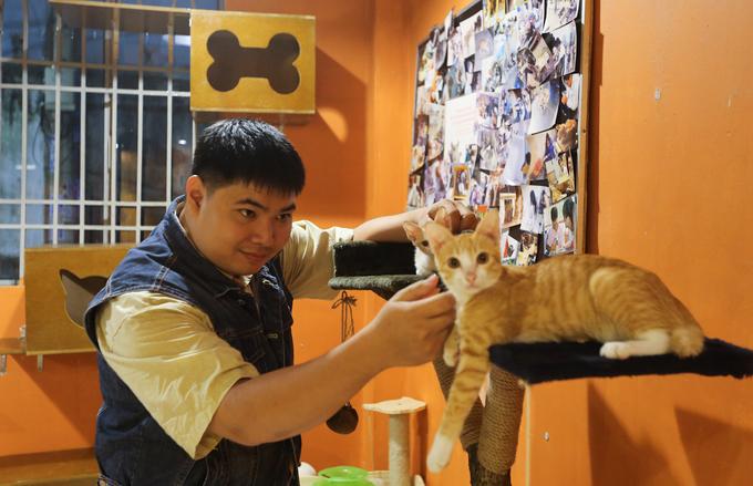Quán cà phê cho khách nhận mèo về nuôi ở Sài Gòn