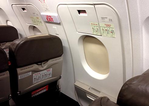 Hành khách không được tự ý mở cửa thoát hiểm khi chưa được phi hành đoàn cho phép. Ảnh minh họa.