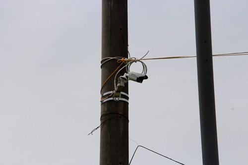 Hệ thống camera sẽ truyền dữ liệu về Trung tâm giám sát điều hành đô thị thông minh. Ảnh: Võ Thạnh