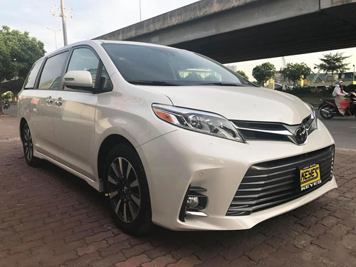 Toyota Sienna 2018 ve Viet Nam - xe gia dinh gia hon 4 ty dong