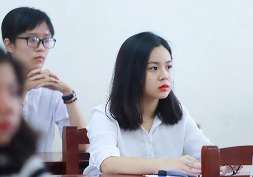 Thí sinh tham gia kỳ thi THPT quốc gia 2018. Ảnh: Nguyễn Đông.