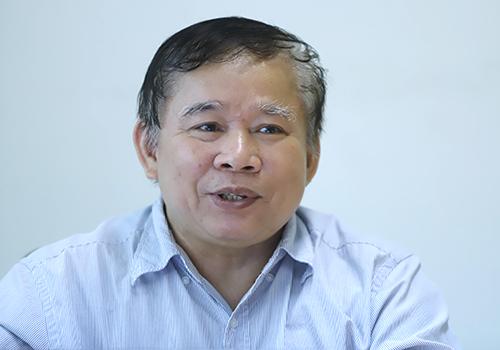 GS. Tiến sĩ khoa học Bùi Văn Ga - nguyên Thứ trưởng Bộ Giáo dục và Đào tạo. Ảnh:Nguyễn Đông.