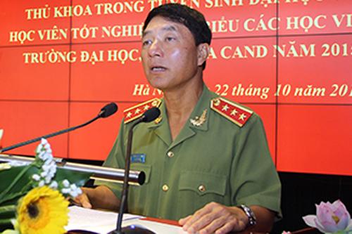 Nguyên thứ trưởng Bộ Công an Trần Việt Tân. Ảnh: CAND.