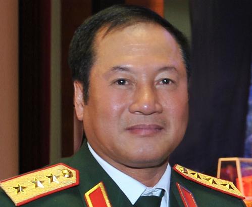 Thượng tướng Phương Minh Hòa. Ảnh: TTX