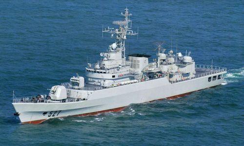 Khinh hạm Type-053H3 trong biên chế hải quân Trung Quốc. Ảnh: Sina.