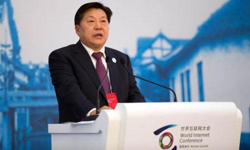 Cựu lãnh đạo Cơ quan quản lý không gian mạng Trung Quốc Lỗ Vĩ. Ảnh: Reuters.