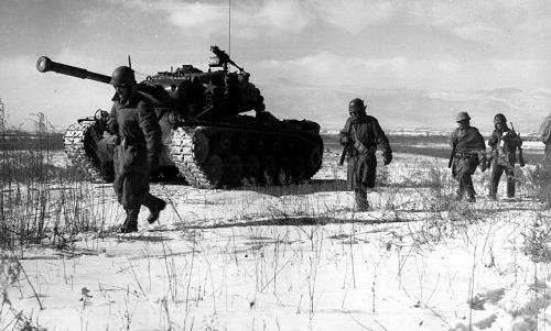 Binh sĩ Mỹ trong cuộc chiến tranh Triều Tiên 1950-1953. Ảnh: National Interest.