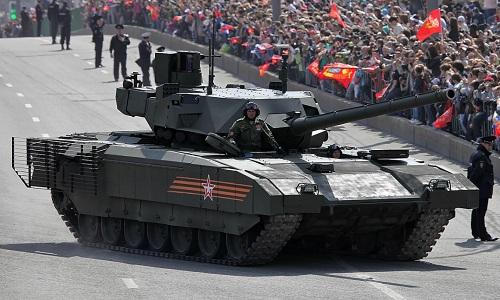 Dòng tăng thế hệ mới Armata của Nga. Ảnh: Sputnik.