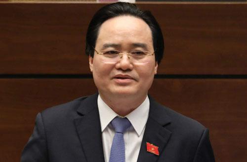 Bộ trưởng Phùng Xuân Nhạ. Ảnh: Trường Phong.