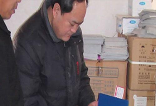 Song Lizhi, giám đốc phòng quản lý tiêm chủng tỉnh Sơn Đông, Trung Quốc. Ảnh: SCMP.