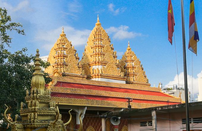 Ngôi chùa kiến trúc Khmer đầu tiên ở Sài Gòn