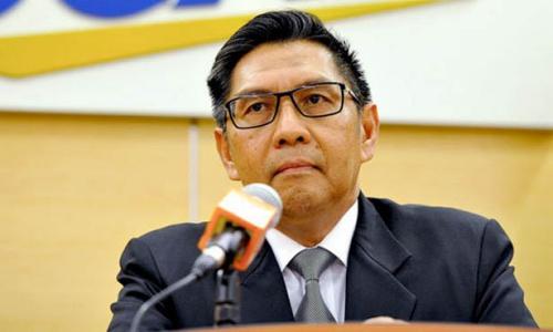 Ông Azharuddin, Tổng giám đốc hàng không dân dụng Malaysia. Ảnh: Freemalaysiatoday.