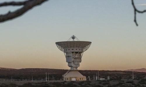 Ăng-ten trong trạm không gian của Trung Quốc tại Argentina. Ảnh: NYTimes.