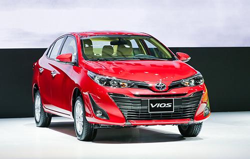 Toyota Vios mới tại Việt Nam. Ảnh: Ngọc Tuấn.